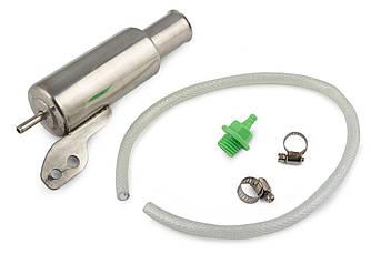 Система отвода картерных газов на скутер, мотоцикл, мопед (стайлинг) (хром)