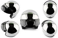 Шлем открытый (size:L, хром) STAR