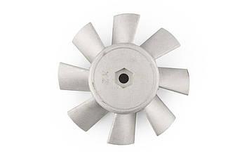 Крыльчатка электровентилятора на Мотоблок 175N/180N (7/9 Hp Лошадиных Сил) DIGGER