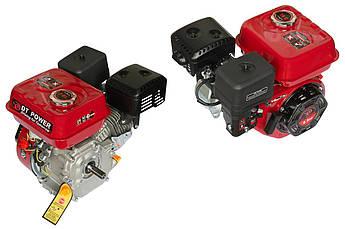 Двигатель (В сборе)  на Мотоблок 168F (6,5 Hp Лошадиных Сил) (полный комплект) (вал Ø 20мм, под шестерни)