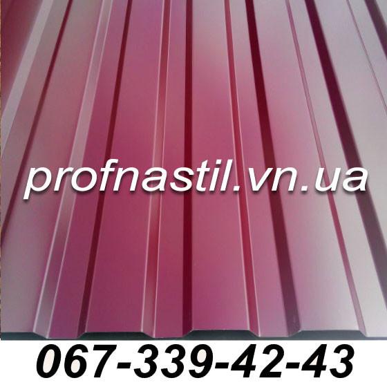 Профнастил стеновой 0,45 мм (шир 1,17 м)