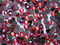Стразы DMCss10 Siam AB(2,7-2,8мм)горячей фиксации.1000шт.