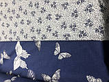 """Комплект постільної білизни з ранфорсу ТМ """"Ловець снів"""", """" Метелик, фото 2"""