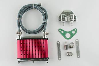 Радиатор охлаждения масляный Дельта (Dеlta), Альфа (Alphа), Вайпер Актив (Vipеr Вайпер Актив (Viper Active)), Квародроцикл (АTV) (красный) RIDE IT