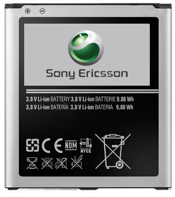 Аккумулятор для Sony Ericsson