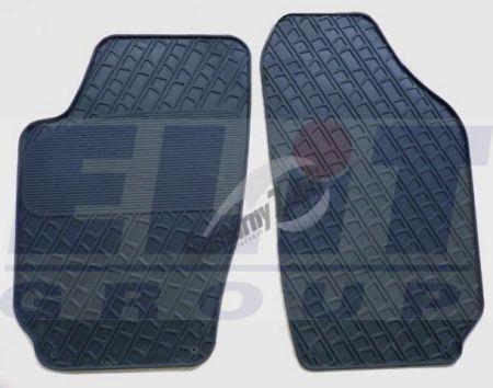 Резиновые коврики Skoda Fabia I (ELIT) 2 шт
