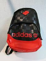 Рюкзак Adidas 64978 черный с красным код 500А, фото 1
