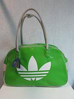 Сумка женская Adidas салатовая код 531А
