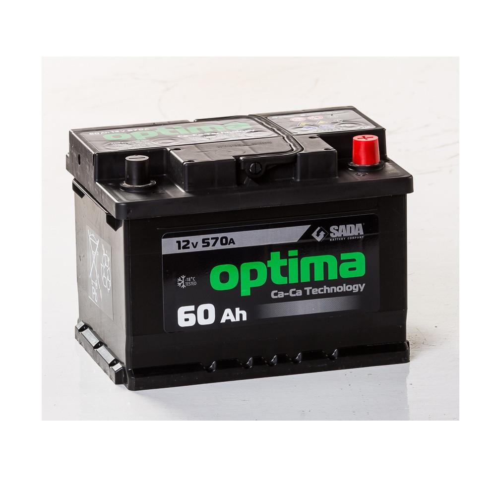 АКБ 6 ст 60 А (570EN) (1) Optima Ca/Ca Сада