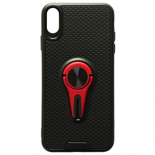Чехол - силикон Car Mount с магнитом+держатель для Xiaomi Redmi 7A red