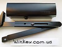 Доводчик дверной Geze TS 1500 с ножницами черный оригинал Германия