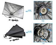 750Вт Комплект постоянного света FL5070-150 / лампа 150 W 5500°K, фото 2