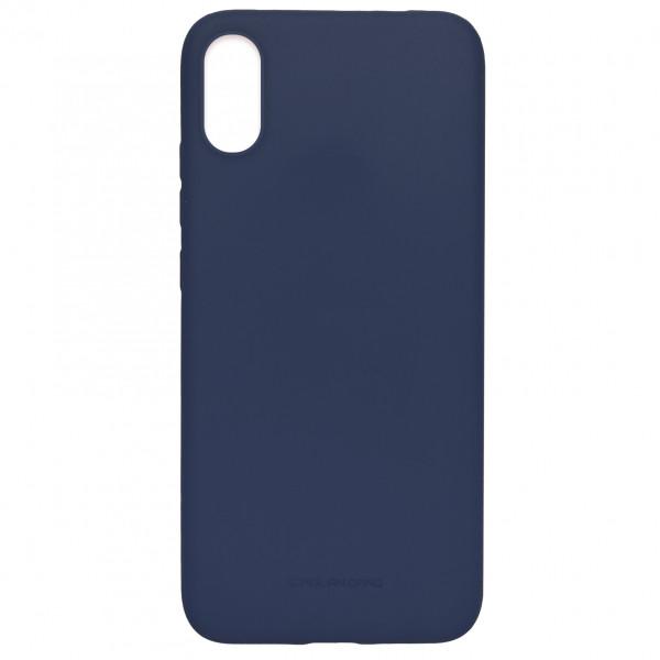 Чехол - силикон MOLAN CANO Jelly Case для iPhone X/XS dark blue