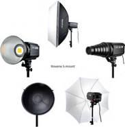 1,2kW Комплект Godox LED профессионального постоянного видеосвета SL60-2SB69BG, фото 2