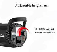 1,2kW Комплект Godox LED профессионального постоянного видеосвета SL60-2SB69BG, фото 4