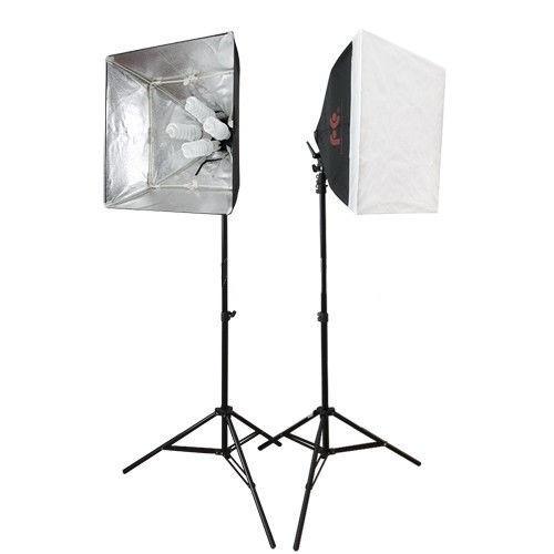 1120 Вт Набор света для видеоблогинга / фото Falcon LH-ESB5050K