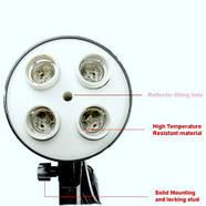 Комплект 720 W LED постоянного светодиодного света  Holder 5070-4L, фото 4