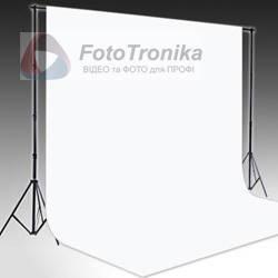 KIT FTR-901 Комплект: виниловый белый фон 2,2*4м и держатель
