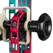 Система крепления 4-х бумажных фонов FALCON B-4W на стену / потолок (держатель для фотостудии), фото 3