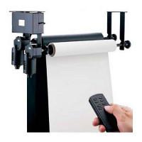 Електрична система кріплення 2-х паперових фонів на стіну / стеля FALCON B-2WE (тримач для фотостудії)