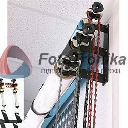 Комплект фото фонов 2,70*5м. FonFO - два бумажных фона + виниловый+держатель на 3 фона