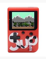 Портативная игровая приставка консоль Retro FC SUP Game box 400 in 1 Красный