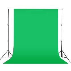 Хромакей зелений Green Field 2.6 х 3.0 м Falcon (тканинний)