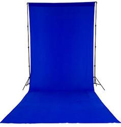 Хромакейный фон синий Falcon BLUE 2.4 х 2.7м (тканевый)