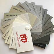 1,35х11м Фоны BD студийные бумажные в рулоне ЦВЕТ НА ВЫБОР: белый, черный, серый, красный и др., фото 4