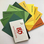 1,35х11м Фоны BD студийные бумажные в рулоне ЦВЕТ НА ВЫБОР: белый, черный, серый, красный и др., фото 5