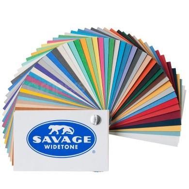 3,60х30м Фоны Savage студийные бумажные в рулоне белый, черный, серый, красный и др.