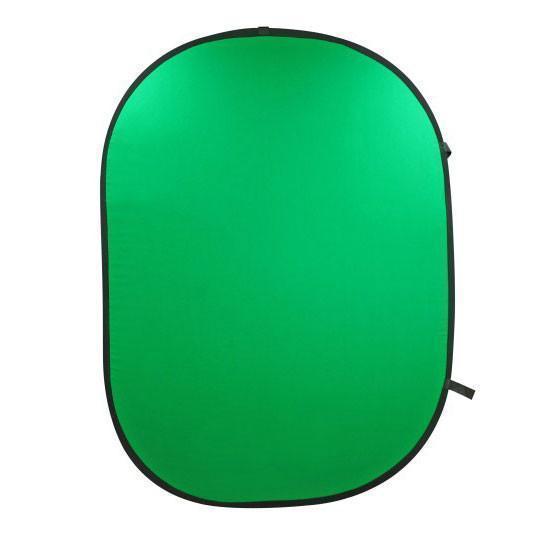 1,5x2м Фон в пружинной рамке Visico BP-028 Chroma Key (зелёный) складной