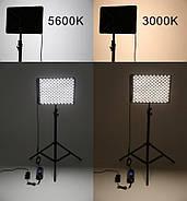 """Постоянный светодиодный свет """"Falcon Eyes RX-12TD"""" ГИБКАЯ LED панель для студийной съемки видео, фото 280 диод, фото 5"""
