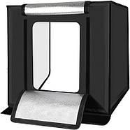 60x60x60см Фотобокс (Лайтбокс, лайткуб,фотокуб) с LED подсветкой Puluz PU5060 LED , фото 2