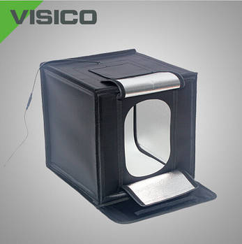 40x40x40см Фотобокс (Лайтбокс, лайткуб,фотокуб) с LED подсветкой Visico LED-440