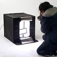 40x40x40см Фотобокс (Лайтбокс, лайткуб, фотокуб) с LED подсветкой Visico LED-440 , фото 2