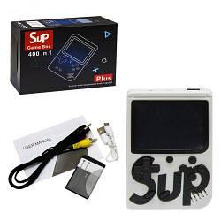 Портативная игровая приставка консоль Retro FC SUP Game box 400 in 1 Белый