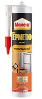 Герметик акриловый Moment морозостойкий, 420 гр., белый, Henkel
