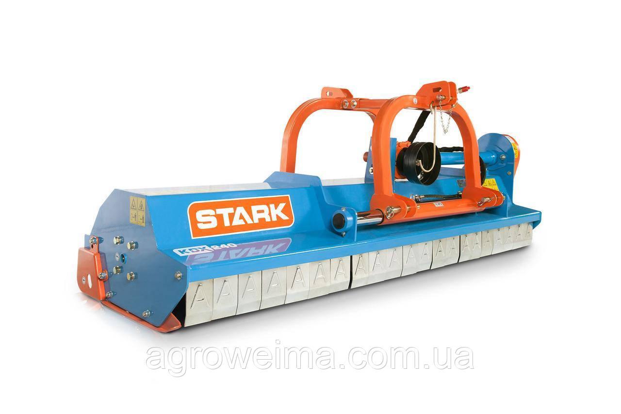 Мульчувач KDX 240 STARK c гідравлікою і з карданом (2,4 м, молотки)