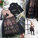 Стильный нарядный комплект для девочек Иллария Размер 140  Новинка, фото 3