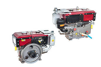 Двигатель (В сборе)  на Мотоблок 175N (7  Hp Лошадиных Сил) XING