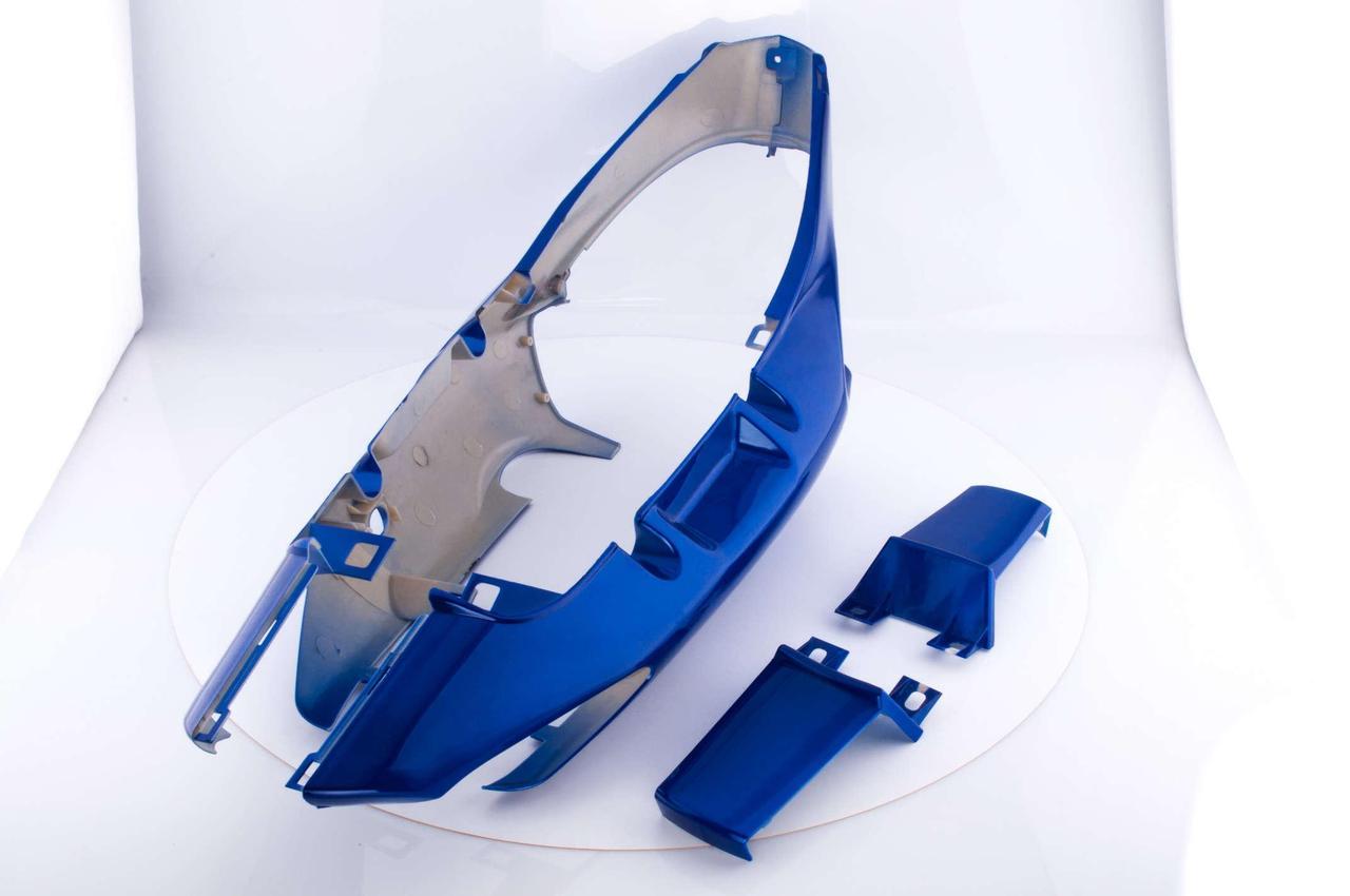Пластик Вайпер Актив (Viper Active) задняя боковая пара (синие) CX
