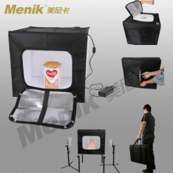 Фотобокс (Лайтбокс, лайткуб,фотокуб) с LED подсветкой Menik Y-20 (60x60x60 см)