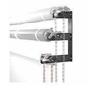 Система крепления 3-х бумажных фонов на стену / потолок Visico B300 (держатель для фотостудии), фото 4