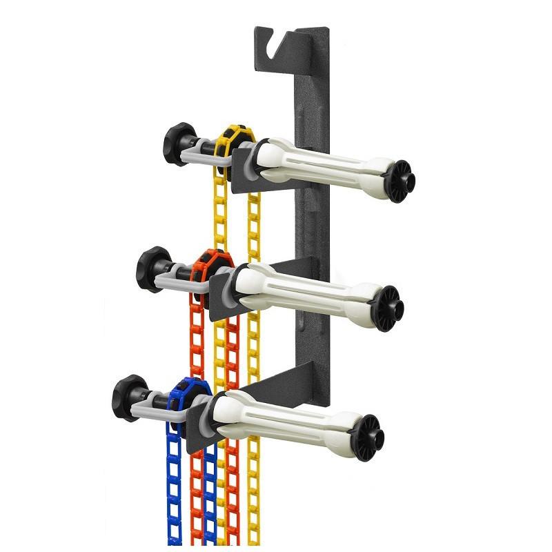 Система кріплення 4-х паперових фонів Visico B400 на стіну / стеля (тримач для фотостудії)