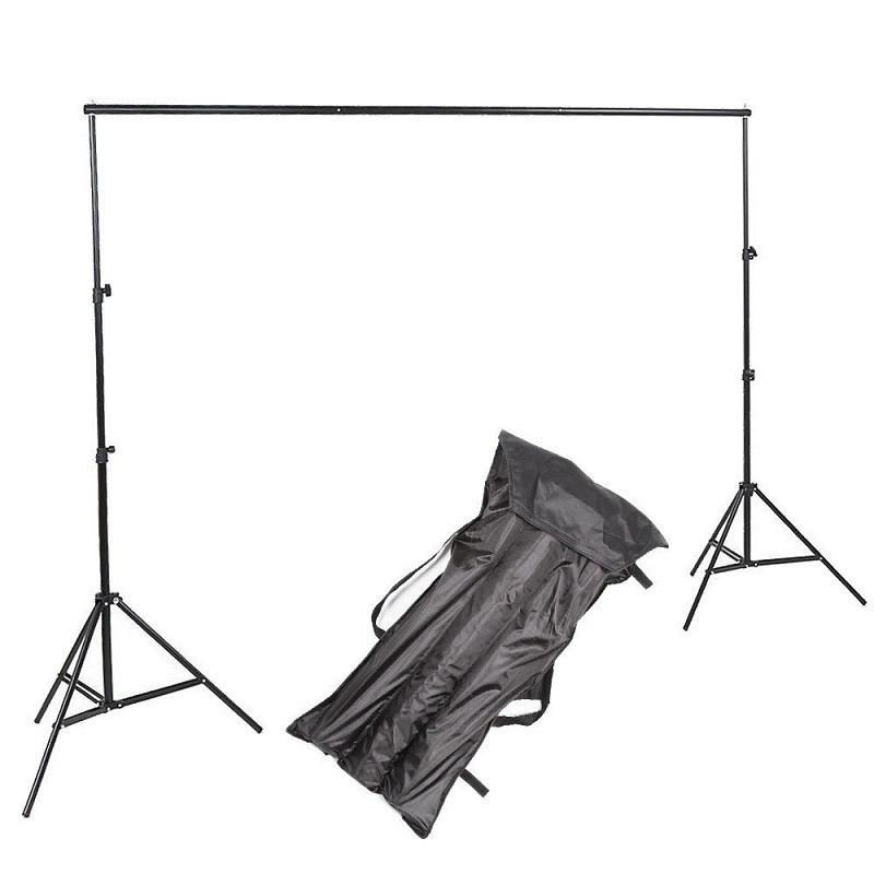 """2,3*3м Держатель-Крепление фото фона """"Ворота"""" Перекладина + стойки Visico VS-B806 (для фотостудии)"""