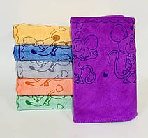 Банные полотенца Мышки Микрофибра (109822)