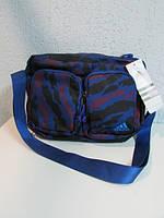 Сумка Adidas 3021 синяя камуфляж код 577А