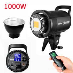 Светодиодный LED прожектор моноблок GODOX SL-60W/ 600W - студийный источник постоянного дневного света, Bowens