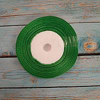 Атласная лента Зеленый